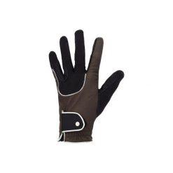 Rękawiczki Pro'Leather brązowe. Czarne rękawiczki damskie FOUGANZA. Za 79.99 zł.