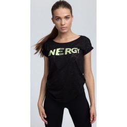 T-shirt damski TSD019 - czarny. T-shirty damskie marki DOMYOS. W wyprzedaży za 54.99 zł.