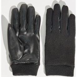 Wełniane rękawiczki - Czarny. Czarne rękawiczki damskie Sinsay, z wełny. Za 29.99 zł.