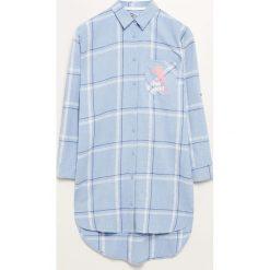Koszula nocna The Pink Panther - Niebieski. Niebieskie koszule nocne damskie Reserved. Za 99.99 zł.