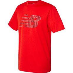 Koszulka treningowa - MT630146AMH. Czerwone koszulki sportowe męskie New Balance, na jesień, z jersey. W wyprzedaży za 79.99 zł.