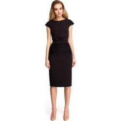 Sukienka ołówkowa z koronką s108. Czerwone sukienki damskie Style, w koronkowe wzory, z koronki. Za 149.90 zł.