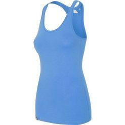 Top damski TSD001 - kobalt. Niebieskie topy damskie 4f, z bawełny, bez rękawów. W wyprzedaży za 34.99 zł.