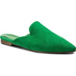 Klapki EVA MINGE - Coria 3J 18CP1372353ES 215. Zielone klapki damskie Eva Minge, ze skóry. W wyprzedaży za 269.00 zł.