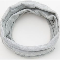 Komin - Jasny szar. Szare szaliki i chusty damskie marki Giacomo Conti, na zimę, z tkaniny. W wyprzedaży za 29.99 zł.