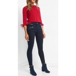 Power Stretch Skinny Jeans. Niebieskie jeansy damskie Orsay. Za 129.99 zł.