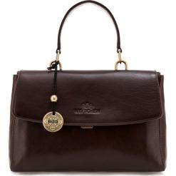 Torebka damska 35-4-055-4. Brązowe torebki do ręki damskie Wittchen, w paski. Za 899.00 zł.