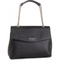 Torebka GUESS - HWEV71 80200 BLA. Czarne torebki do ręki damskie Guess, z aplikacjami, ze skóry ekologicznej. Za 559.00 zł.