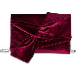 Kopertówka aksamitna bonprix czerwony klonowy. Czerwone kopertówki damskie bonprix, eleganckie. Za 79.99 zł.