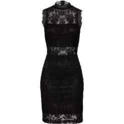 Sukienka bonprix czarny. Czarne sukienki damskie bonprix, z koronki, eleganckie. Za 149.99 zł.
