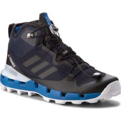 Buty adidas - Terrex Fast Mid Gtx-Surrou GORE-TEX AQ1062 Legink/Cblack/Blubea. Niebieskie trekkingi męskie Adidas, z gore-texu. W wyprzedaży za 519.00 zł.