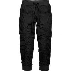 Wygodne spodnie rybaczki bonprix czarny. Spodnie materiałowe damskie marki DOMYOS. Za 129.99 zł.