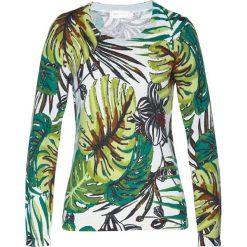 Sweter bonprix z kolorowym nadrukiem. Swetry damskie marki bonprix. Za 79.99 zł.