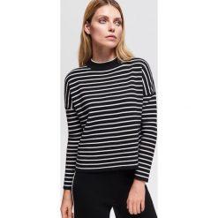 Sweter ze stójką - Czarny. Swetry damskie marki bonprix. Za 99.99 zł.