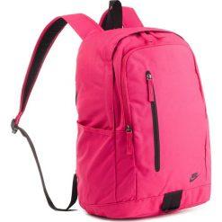 Plecak NIKE - BA5532 666. Czerwone plecaki damskie Nike, z materiału, sportowe. Za 119.00 zł.