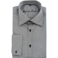 Koszula JUSEPPE 15-11-14-K. Białe koszule męskie Giacomo Conti, z bawełny, z włoskim kołnierzykiem, z długim rękawem. Za 259.00 zł.