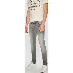 Trussardi Jeans - Jeansy 370. Szare jeansy męskie TRUSSARDI JEANS. W wyprzedaży za 479.90 zł.