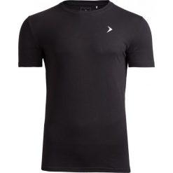 T-shirt męski  TSM601 - głęboka czerń - Outhorn. Czarne t-shirty męskie Outhorn, z bawełny. W wyprzedaży za 24.99 zł.