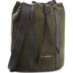 Torebka EVA MINGE - Miami 4G 18NN1372655EF  862. Zielone torebki do ręki damskie Eva Minge, ze skóry. W wyprzedaży za 349.00 zł.