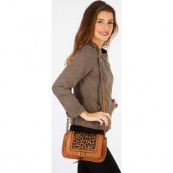 """Torebka """"Ascottageo"""" w kolorze jasnobrązowym. Brązowe torby na ramię damskie Scottage. W wyprzedaży za 72.95 zł."""