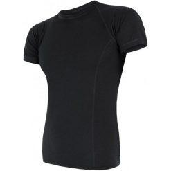 Sensor Koszulka Termoaktywna Merino Air M Black Xl. Czarne koszulki sportowe męskie Sensor, z materiału, z krótkim rękawem. Za 195.00 zł.