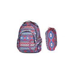 Plecak Młodzieżowy Coolpack Spark Boho +piórnik. Szara torby i plecaki dziecięce CoolPack, z materiału. Za 129.90 zł.