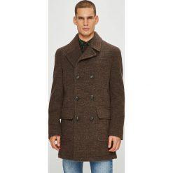 Pierre Cardin - Płaszcz. Brązowe płaszcze męskie Pierre Cardin, z poliesteru, klasyczne. W wyprzedaży za 869.90 zł.