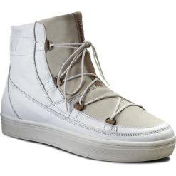 Śniegowce MOON BOOT - Mb Vega Lux 24101100002 Bianco. Białe kozaki damskie Moon Boot, z materiału. W wyprzedaży za 699.00 zł.
