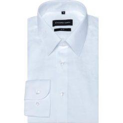 Koszula SIMONE KDBS000354. Białe koszule męskie Giacomo Conti, z bawełny, z klasycznym kołnierzykiem, z długim rękawem. Za 259.00 zł.
