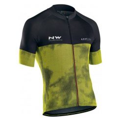 Northwave Męska Koszulka Rowerowa blade3 Jrs S/S Yellow Fluo/Black M. Czarne koszulki sportowe męskie Northwave. Za 299.00 zł.