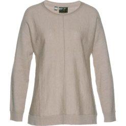 Sweter z domieszką kaszmiru bonprix kamienisty melanż. Swetry damskie marki bonprix. Za 69.99 zł.
