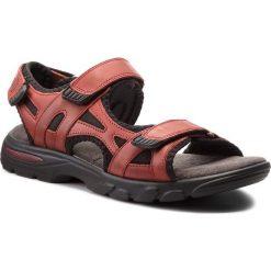 Sandały LASOCKI FOR MEN - MI07-A644-A505-06 Czerwony. Czerwone sandały męskie Lasocki For Men, z materiału. W wyprzedaży za 129.99 zł.