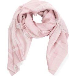 Szal PATRIZIA PEPE - 2V8420/A1TH-I2YK White/Rose. Szare szaliki i chusty damskie marki Giacomo Conti, na zimę, z tkaniny. W wyprzedaży za 409.00 zł.
