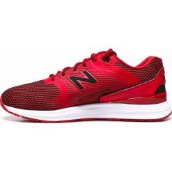 New Balance - Buty. Czerwone buty sportowe męskie New Balance, z gumy. W wyprzedaży za 219.90 zł.