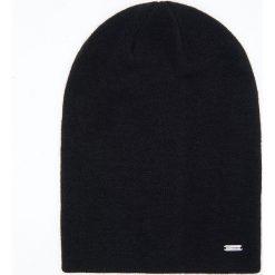 Czapka - Czarny. Czarne czapki i kapelusze damskie Cropp. Za 39.99 zł.