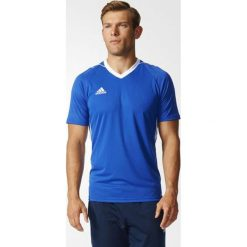 Adidas Koszulka piłkarska Tiro 17 niebieska r. XS (BK5439). Koszulki sportowe męskie marki bonprix. Za 76.30 zł.