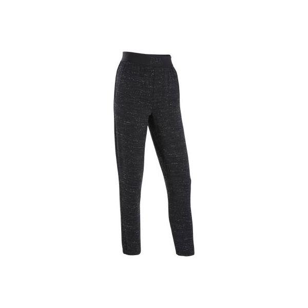 1e748397 Luźne spodnie do tańca nowoczesnego damskie czarny melanż