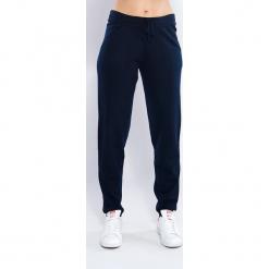 Spodnie kaszmirowe w kolorze granatowym. Niebieskie spodnie sportowe damskie Just Cashmere, z kaszmiru. W wyprzedaży za 391.95 zł.