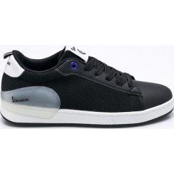 Vespa - Buty Freccia. Czarne buty sportowe męskie Vespa, z materiału. W wyprzedaży za 219.90 zł.