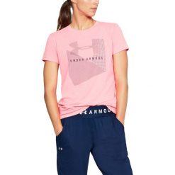 Under Armour Koszulka damska Sportstle Mesh Logo Crew różowa r. S (1310488-819). T-shirty damskie Under Armour, z meshu. Za 71.40 zł.