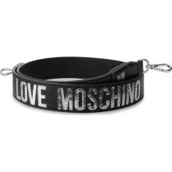 Wymienny pasek do torebki LOVE MOSCHINO - JC6404PP06KA100B Nero/Argento. Czarne paski damskie Love Moschino, w paski, ze skóry ekologicznej. Za 289.00 zł.