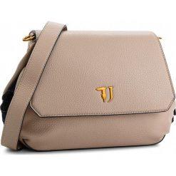 Torebka TRUSSARDI JEANS - Lavanda Shoulder Bag 75B00450 W050. Brązowe listonoszki damskie TRUSSARDI JEANS, z jeansu. Za 599.00 zł.
