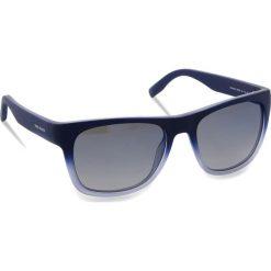 Okulary przeciwsłoneczne BOSS - 0249/S Qwoblue. Niebieskie okulary przeciwsłoneczne męskie Boss, z tworzywa sztucznego. W wyprzedaży za 429.00 zł.