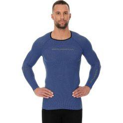 Brubeck Koszulka męska 3D Run PRO z długim rękawem niebieska r. XXL (LS13000). Koszulki sportowe męskie Brubeck, z długim rękawem. Za 101.99 zł.