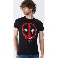 T-shirt Deadpool - Czarny. Czarne t-shirty męskie House. Za 59.99 zł.