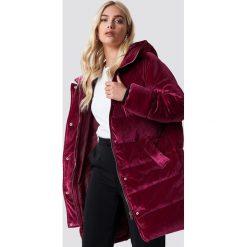 NA-KD Aksamitna kurtka - Pink,Burgundy. Różowe kurtki damskie NA-KD, z materiału. Za 404.95 zł.
