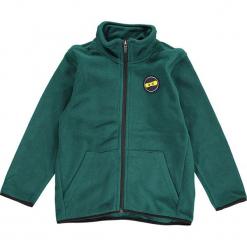 Kurtka polarowa w kolorze ciemnozielonym. Zielone kurtki i płaszcze dla chłopców marki Lego Wear Fashion, z bawełny, z długim rękawem. W wyprzedaży za 97.95 zł.