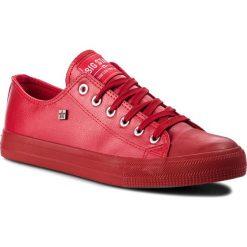 Trampki BIG STAR - V174348 Red. Czerwone trampki męskie Big Star, z gumy. Za 99.00 zł.