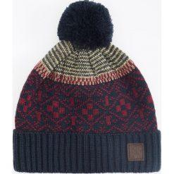 Czapka - Granatowy. Niebieskie czapki i kapelusze męskie Reserved. Za 49.99 zł.