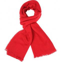 """Szal """"Rouge"""" w kolorze czerwonym - 190 x 65 cm. Czerwone szaliki i chusty damskie Scottage, z materiału. W wyprzedaży za 45.95 zł."""